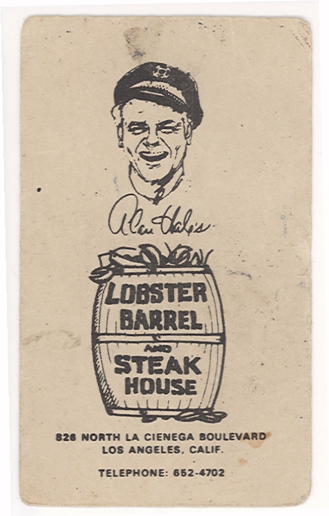 Alan Hale's Lobster Barrel